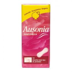 Compresas Anatómicas Ausonia (14 uds)