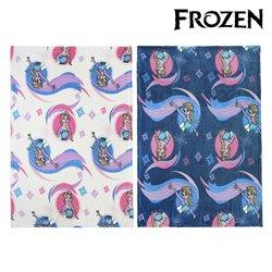 Coperta in Pile Frozen 73360 (120 x 160 cm) Azzurro