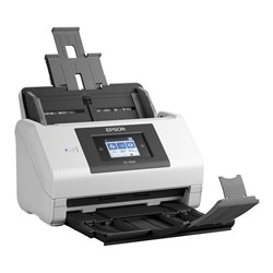 Scanner Fronte Retro Epson DS-780N 600 dpi USB 3.0 LAN Bianco