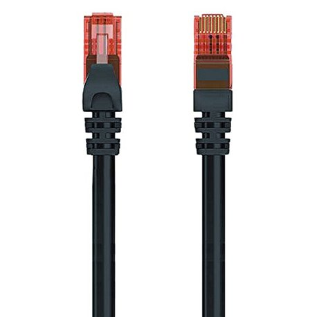 Cavo di Rete Rigido UTP Categoria 6 Ewent EW-6U-005BL 1000 Mbit/s Nero (0,5 m)