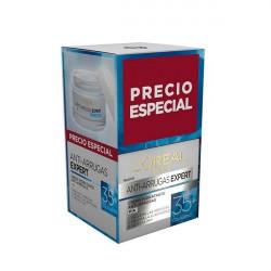 Anti-Ageing Cream Expert Colageno +35 L'Oreal Make Up (2 pcs)