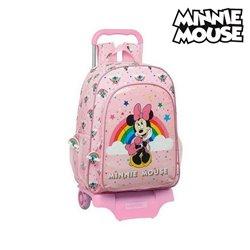 Trolley per la Scuola 905 Minnie Mouse Rainbow Rosa