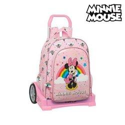Trolley per la Scuola Evolution Minnie Mouse Rainbow Rosa