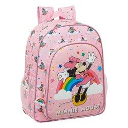 Zaino Scuola Minnie Mouse Rosa