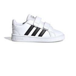 Scarpe Sportive per Bambini Adidas Grand Court I Bianco Nero 22