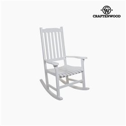 Sedia a Dondolo Legno di pioppo (116 x 87 x 68 cm) by Craftenwood