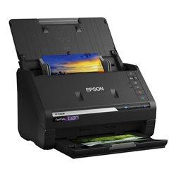 Scanner Fronte Retro Epson FF680W 300 dpi 45 ppm WIFI Nero
