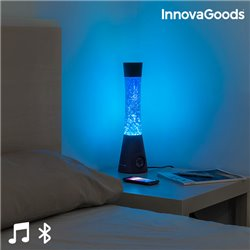 Lampe à Lave avec Haut-Parleur Bluetooth et Microphone Flow Lamp InnovaGoods 30W