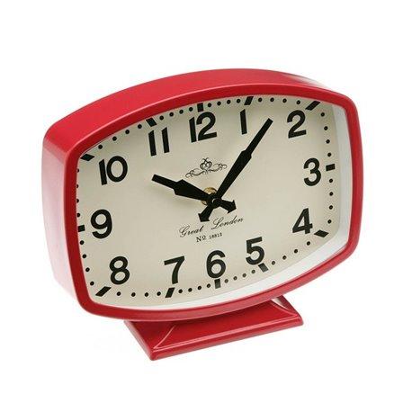 Orologio da Tavolo Metallo (5,5 x 18,5 x 22,5 cm)
