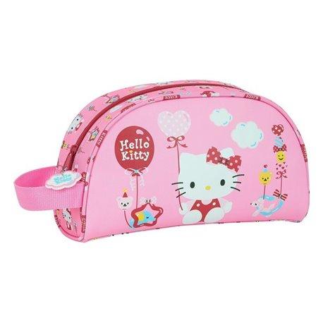 Necessaire per la Scuola Hello Kitty Balloon Rosa