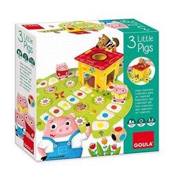 Playset Goula 3 Little Pig Diset Legno