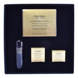 Women's Cosmetics Set Future Solution Lx Shiseido (4 pcs)