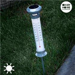 Lâmpada Solar Termómetro Oh My Home