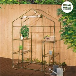 Oh My Home Casa Greenhouse with Shelving