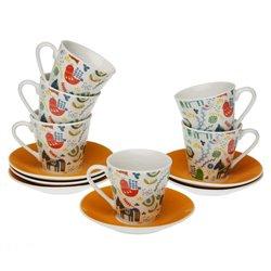 Set di Tazze da Caffè Manaia Porțelan (6 Pezzi)