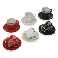 Set di Tazze da Caffè Gres (6 Pezzi)