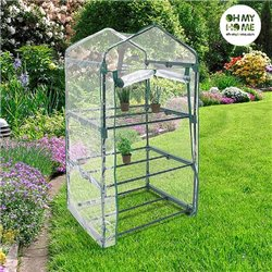 Oh My Home Greenhouse with Shelves
