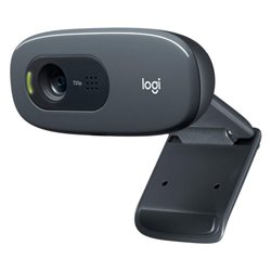 Webcam Logitech C270 720 px Nero
