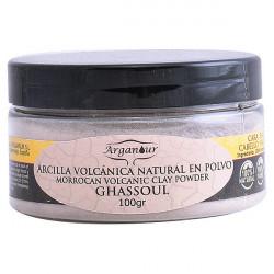 Masque d'Argile pour Visage et Cheveux Ghassoul Arganour (100 g)