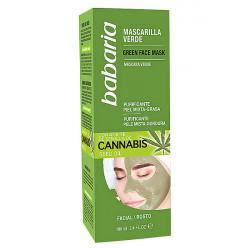 Masque purifiant Cannabis Babaria (100 ml)