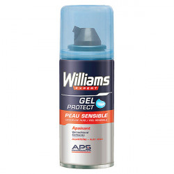 Mousse à raser Protect Williams (75 ml)