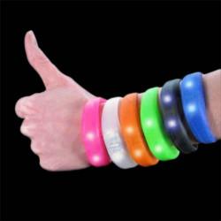 Bracelet Silicone Blink Bandz Transparent