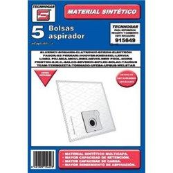 Sacchetto di Ricambio per Aspirapolvere Tecnhogar 915649 (5 uds)