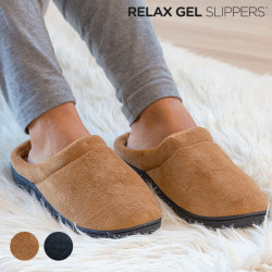 Chaussons Relax Gel Slippers Marron S