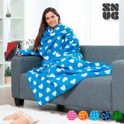Couverture à Manches Adultes Snug Snug Extra Douce Designs Originaux Galaktic