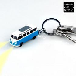 VW-Bulli-Schlüsselanhänger mit LED-Licht
