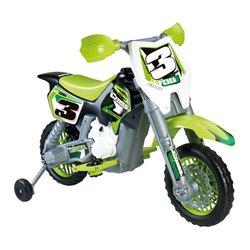 Motocicletta Feber Rider Cross 6 V Elettrica Verde (82 X 57 x 119 cm)