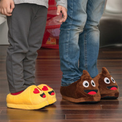 Emoticons Children's Slippers Wink 35-36