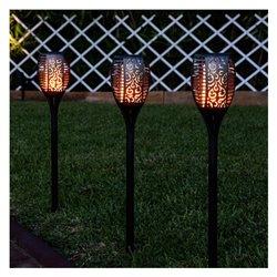 Torche de Jardin LED Ledkia A++ 1 W (Noir) (100 lm) (780x120x120 mm)