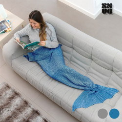 Manta Sereia Snug Snug One Mermaid Cinzento