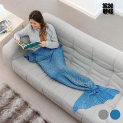 Manta Sirena Snug Snug One Mermaid Gris
