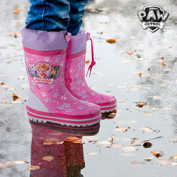 Stivali da Pioggia Rosa PAW Patrol 30