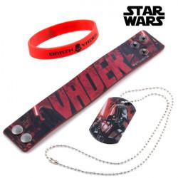 Pulseras y Colgante Darth Vader (Star Wars)