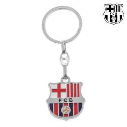 F.C. Barcelona Silberner Schlüsselanhänger
