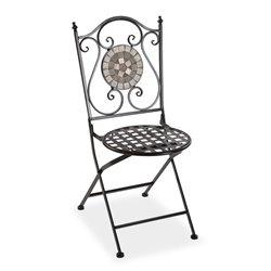 Chaise de jardin Mosaïque Métal (50 x 92 x 39 cm)