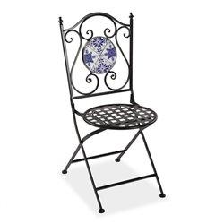 Chaise de jardin Carrelage Métal (50 x 92 x 39 cm)