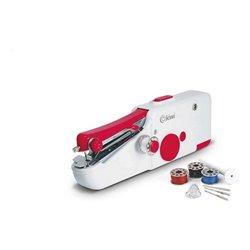 Machine à coudre portative de voyage Kiwi 220-240 V / 50-60 Hz Rouge/Blanc