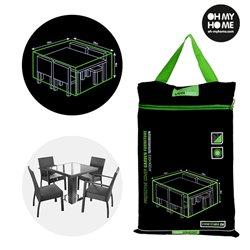 Oh My Home wasserdichte Hülle für Tisch und Gartenstühle