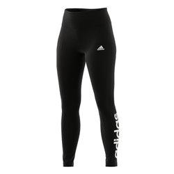 Leggings Sportivo da Donna Adidas W LIN LEG GL0633 Nero XS