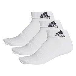 Calzini Sportivi Adidas Cush Ank 3PP DZ9365 Bianco Unisex L