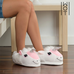 Wagon Trend Unicorn Slippers 31-32