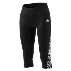 Leggings Sportivo da Donna Adidas W UFORU 34 TIG GV6585 Nero L