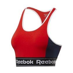 Reggiseno Sportivo Reebok Rosso Rosso L
