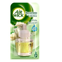 Air Wick Recambio de Ambientador Eléctrico White Bouquet (19 ml)