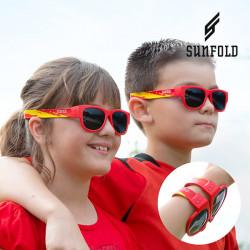 Aufrollbare Kinder-Sonnenbrillen Sunfold Kids Weltmeisterschaft Spanien