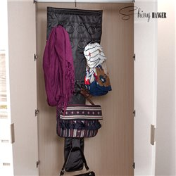 Shiny Hanger Glam Bag and Accessory Organiser